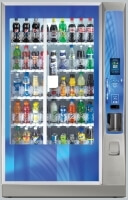 A Plus Vending - Drinks Vending Machine Bev Max Media Crane